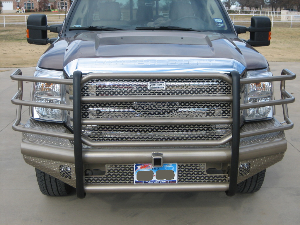 Ford F350 King Ranch >> Ranch Hand Bumpers Installed - Diesel Forum ...