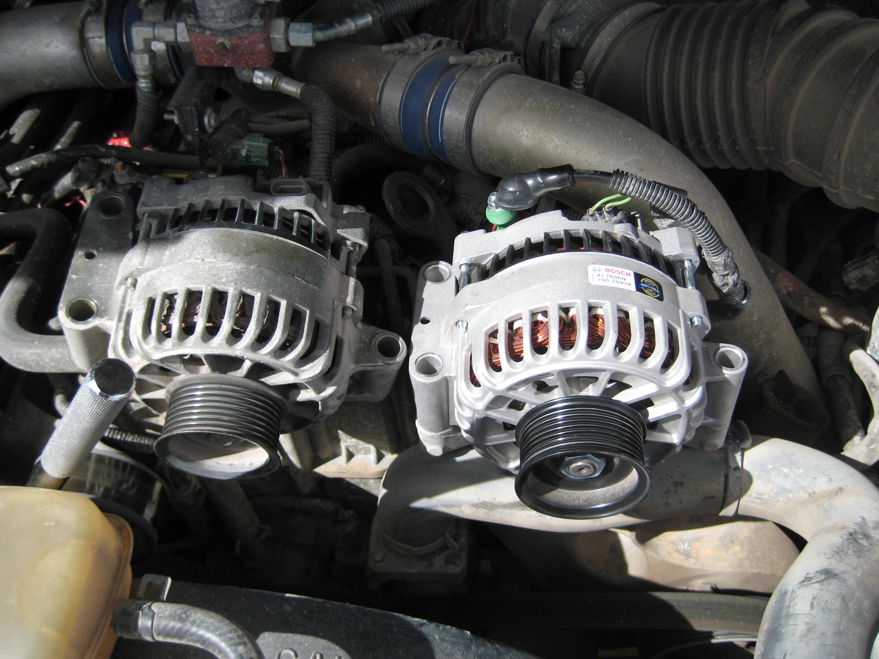 easy  amp alternator upgrade diesel forum