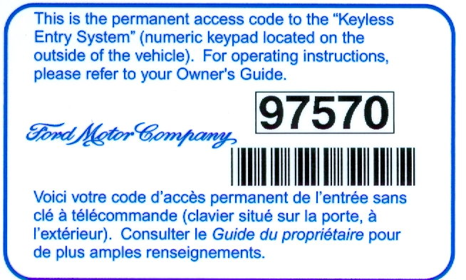Door Lock Fuse Location furthermore Lincoln Town Car Keyless Entry Code Location furthermore 2001 Chevy Tahoe Keyless Entry Receiver Location further Ford Explorer  puter Module Location as well 2000 Honda Cr V Fuse Box Diagram. on ford keyless entry module location