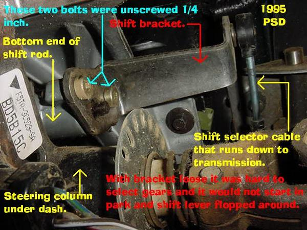Problem With Column Shifter Diesel Forum Thedieselstop Com