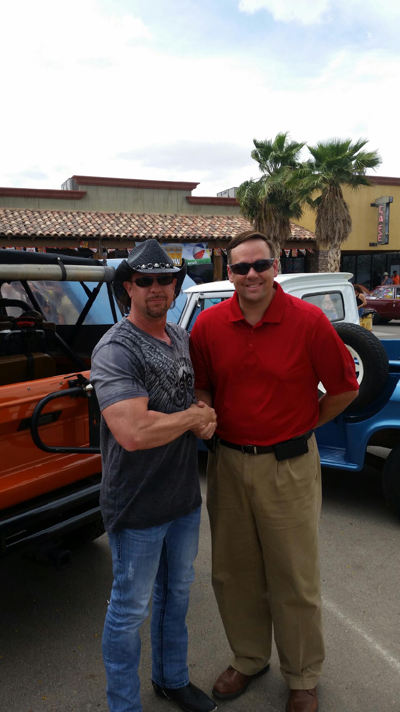 Maricopa Car Show experience-meeting-mayor.jpg