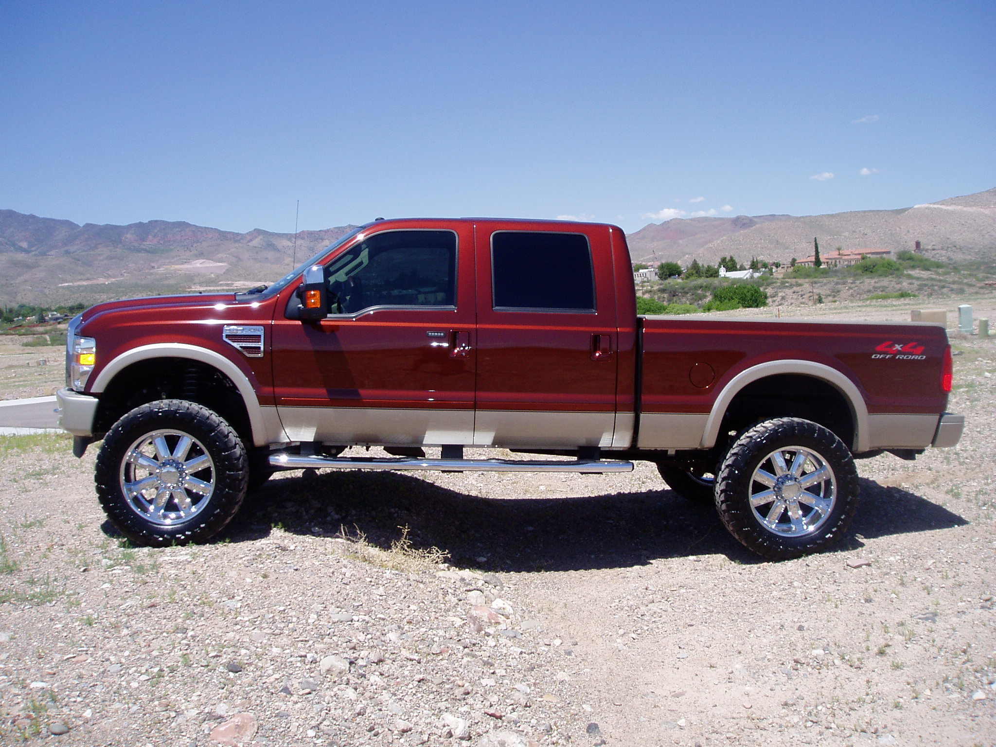 2004 Ford F250 King Ranch ford f 250 lifted source http galleryhip com 2012 f250 lifted white ...
