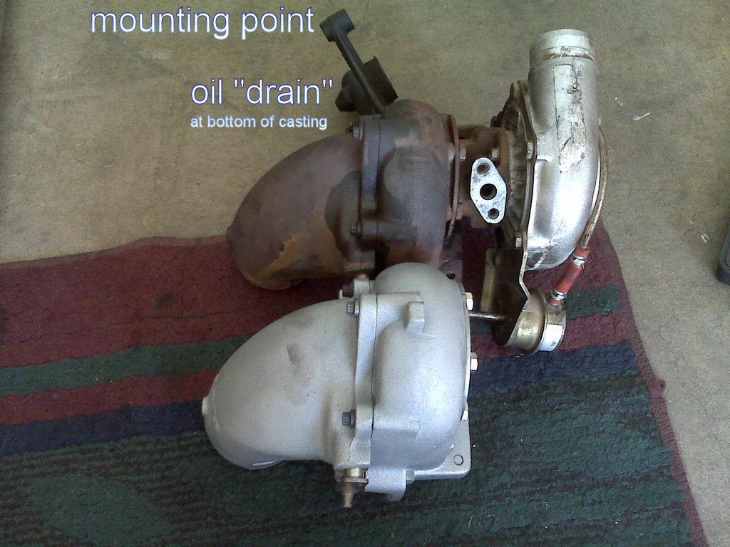 7 3 IDI turbo oil leak (big, need help) - Diesel Forum