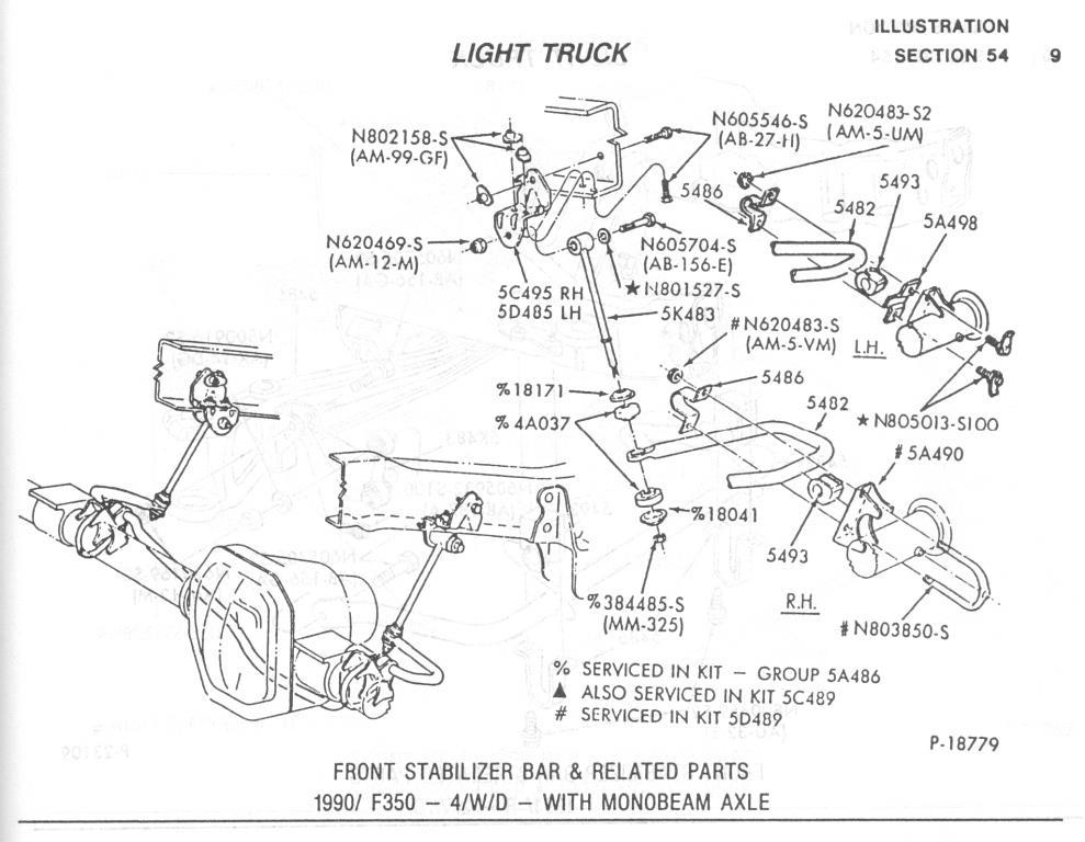 96 F350 Sway Bar Diagram Wiring Diagrams Wni