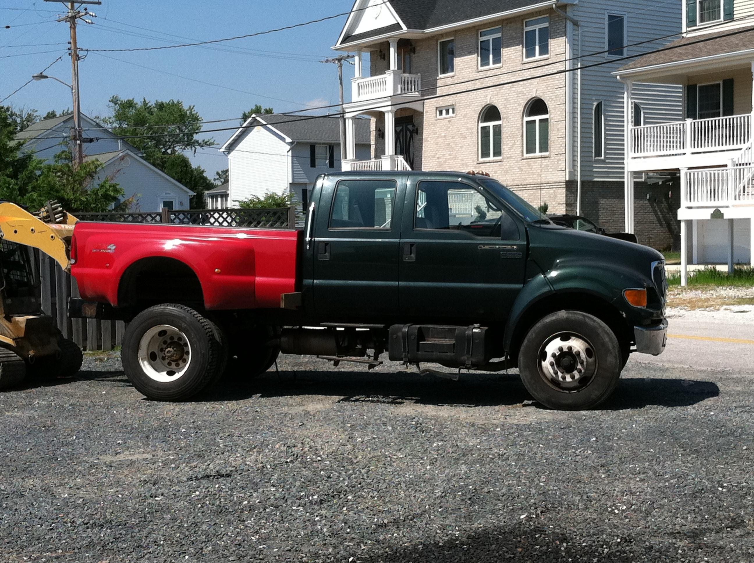 F Truck Bed