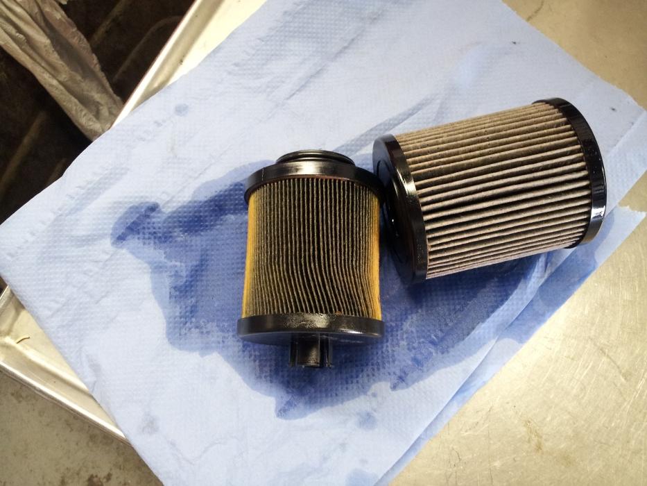 Dirty Fuel Filter -- Pics - Diesel Forum