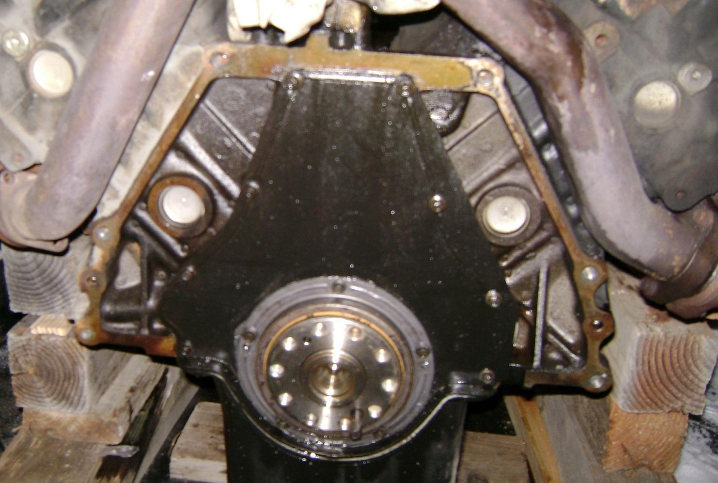 Rear seal plate leaking??? - Diesel Forum - TheDieselStop com