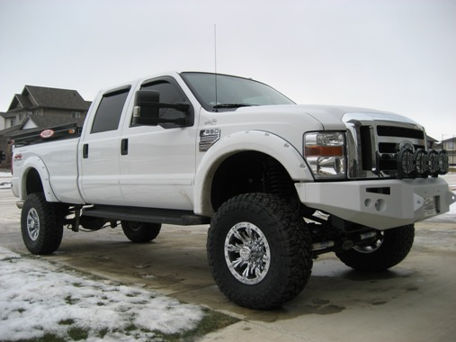 Four Post Lift >> help on fender flares - Diesel Forum - TheDieselStop.com