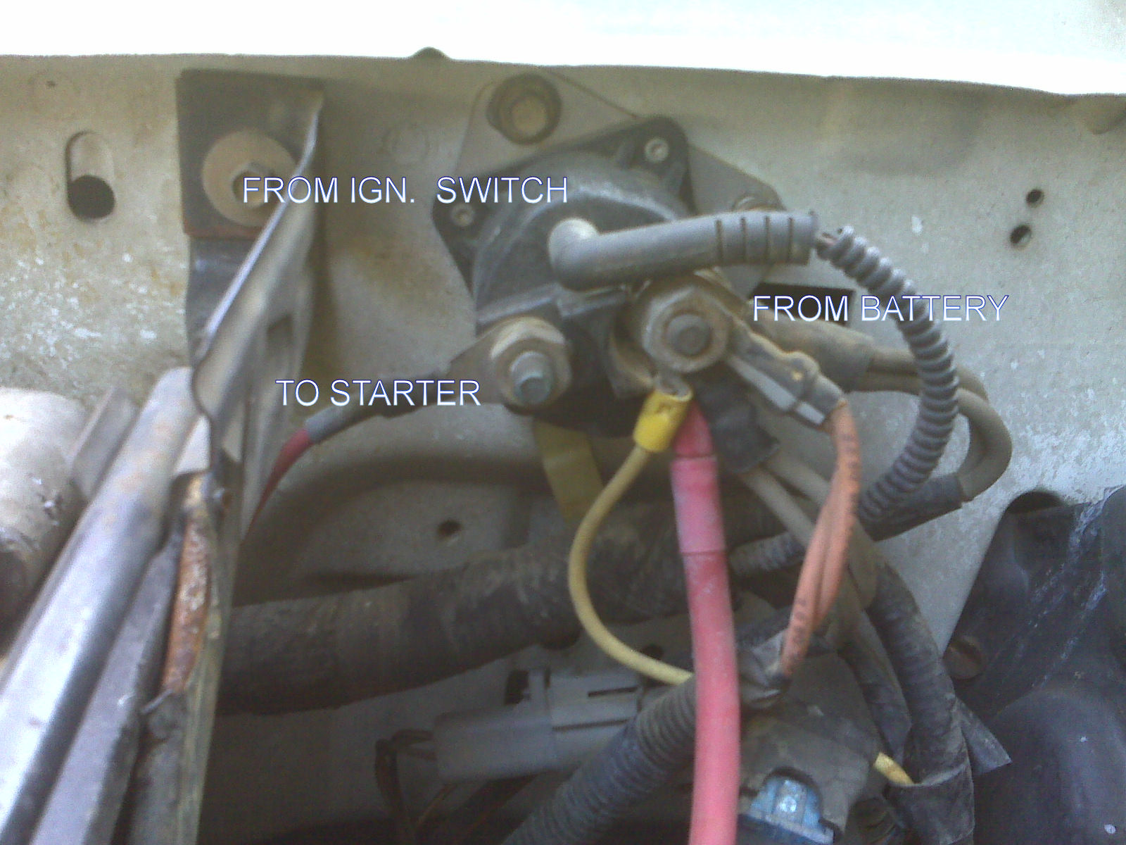 [TVPR_3874]  where is the starter motor relay | The Diesel Stop | 96 Ford Diesel Starter Wiring |  | The Diesel Stop