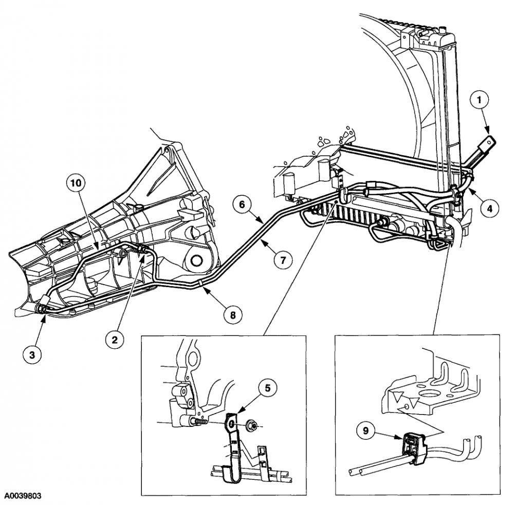transmission cooler - diesel forum