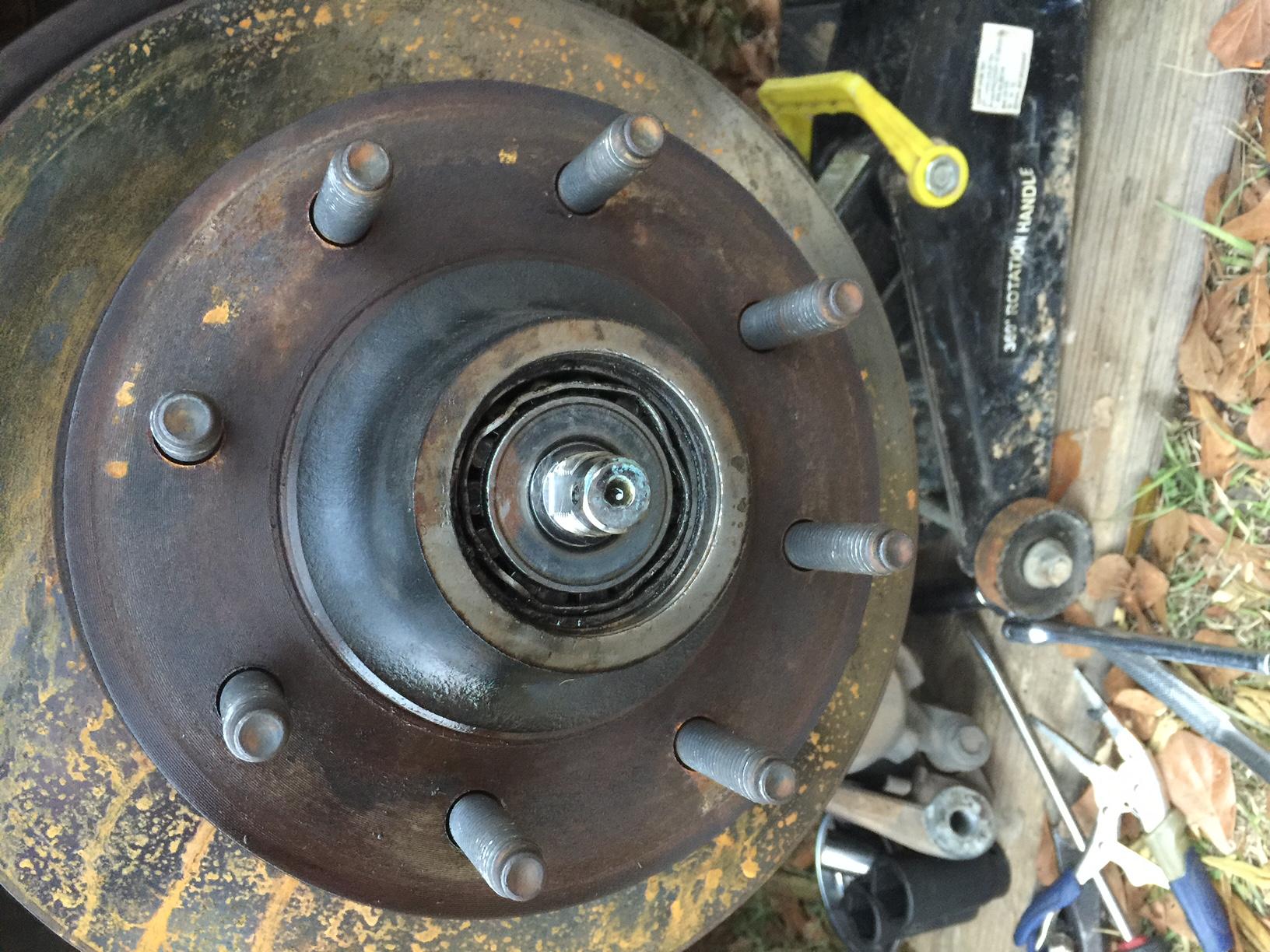 2wd front wheel bearings - Diesel Forum - TheDieselStop com