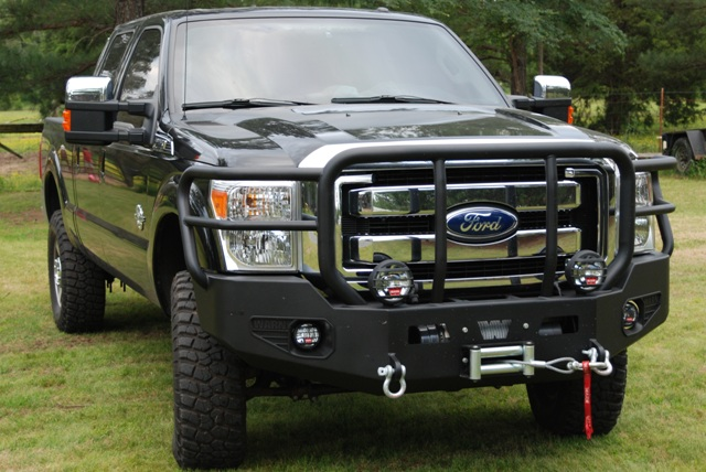2001 Ford F150 Lariat >> Warn Heavy Duty Bumper !!! - Diesel Forum - TheDieselStop.com
