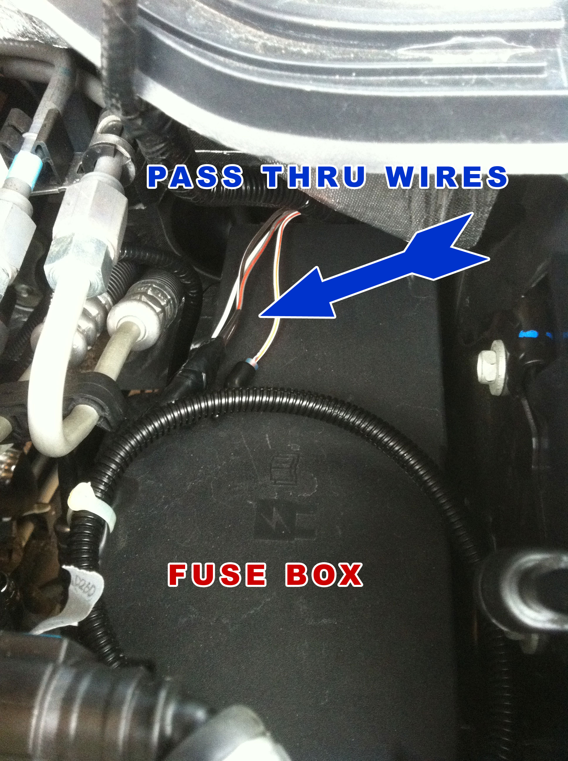 2012 ford upfitter switch wiring upfitter external access wire location  the diesel stop  upfitter external access wire location