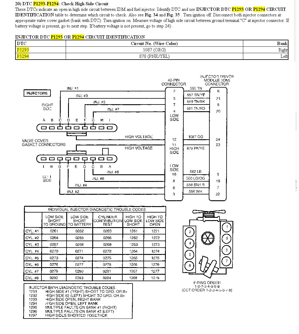 2000 F250 running concerns - sel Forum - TheselStop.com Valve Cover Harness Wiring Diagram on