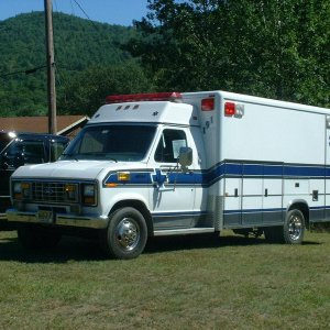 The Compu Doc ambulance