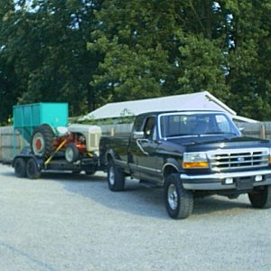 My Truck and my Ford 9N