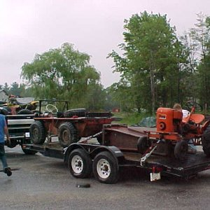 Towing 10000 Lbs. with 3.55s