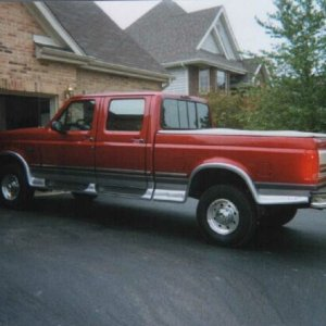 Jerry Huttenburg 1996 F-350 CC 4x4