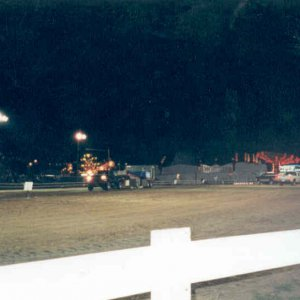 My 97 Truck Pulling the Sled at the Cecil County Fair 1