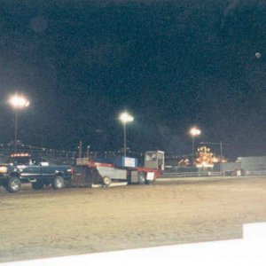 My 97 Truck Pulling the Sled at the Cecil County Fair 3