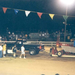 My 97 Truck Pulling the Sled at the Cecil County Fair 5