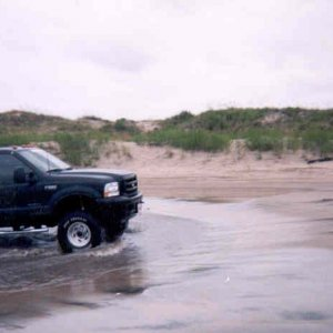 Playing on the Beach In Nagshead NC 1