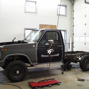 86 F250 ready for conversion