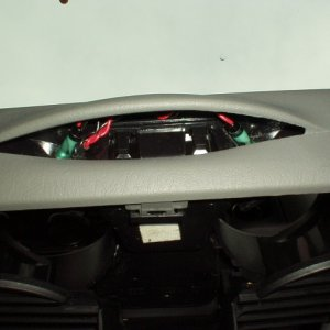 Cup Holder LED Wiring