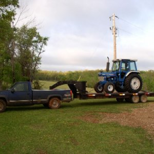 Truck and Tractor