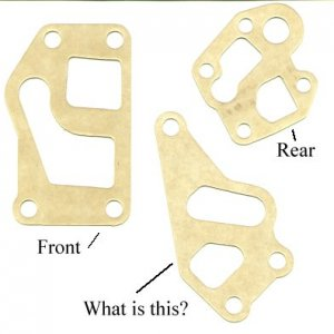Header Gaskets for an IDI oil cooler