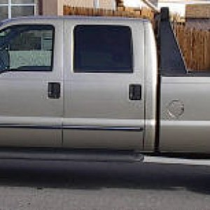 side view of my truck before conversion