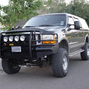 "2000 Excursion 5"" superlift"