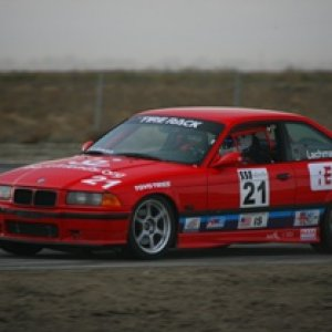 Racing at Buttonwillow