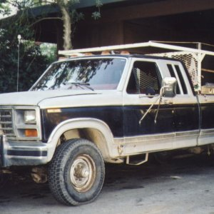My truck in April '03