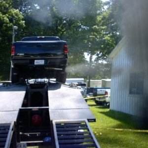 my truck on muncie dyno