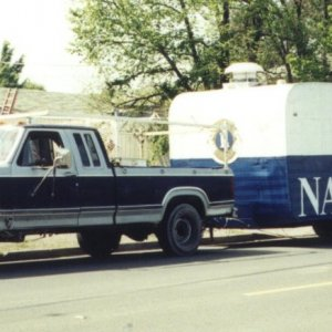 Napa Lion's Club Trailer