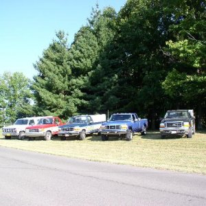 4 Generations of Ford Diesel Power