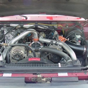 Powerstroke Engine with extras