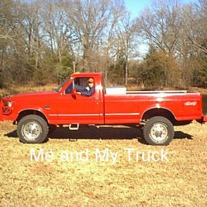 My Big Red Truck