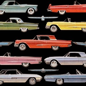 1955 - 1963 Thunderbirds
