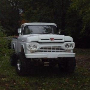 Ford 1960 4x4  F100