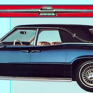 1967 Thunderbird Landau Sedan