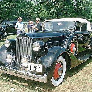 My 1935 Packard Coupe Roadster