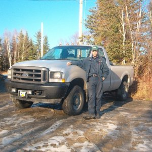 Me and my F-350 2003 XL 7.3 Power Stroke november 2004