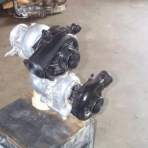 Twin turbo kit for 7.3 Powerstroke