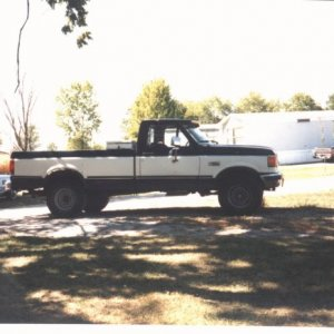 Jim Williams 1987 F-250 4x4 LWB  6.9