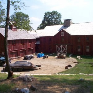 Front of $7,000,000 barn