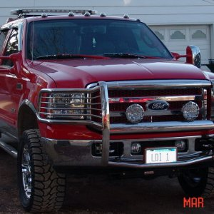 2005 crew cab at about 95% completed
