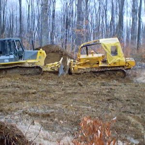 A couple of our Dozers