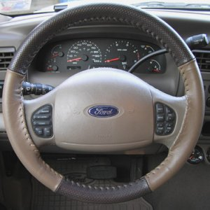 Wheelskins steering wheel cover